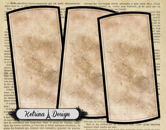 Blank Printable Tags: Editable Blank Apothecary Labels Printable Labels By
