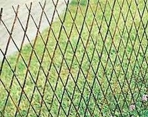 "Willow Expandable Lattice Fence Panel, 72""W X 48""H, Set of 2, WSF-48"