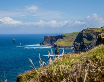 LandscapePhotograph of the Cliffs of Moher, Ireland