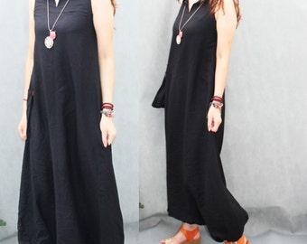 Women tunic Penguin dress / women clothing/ women pants / women harem pishs /casual sundress handmade