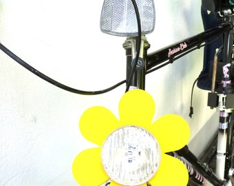 3 Flowers for bicycle lamps - The  Big Happy Flower (3 pcs.)