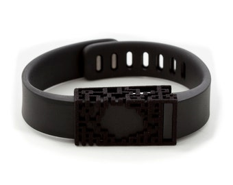 Fitbit Flex black Lucas slide accessory • SPECIAL OFFER: 2 for the price of 1!