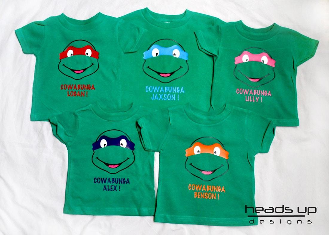 Ninja Turtle Shirt Toddler Personalized Teenage By
