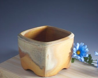 Square Bowl-Soda Fired