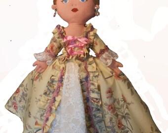 Marie-Antoinette rag doll