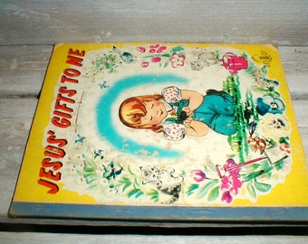 Jesus' Gift To Me *Mighty Mite Book* Moody Press 1956