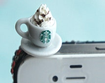 starbucks cappuccino phone plug