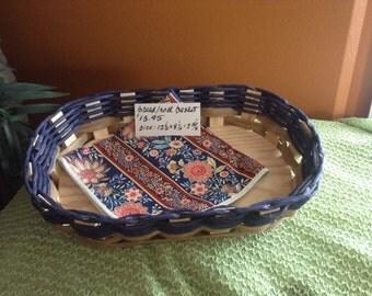 Hand Woven Bread/Dessert/Food Serving Basket