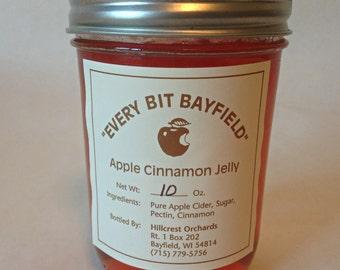 Homemade Apple Cinnamon Jelly