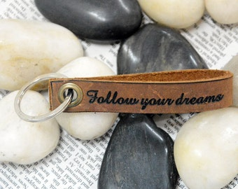 Engraved Keychain,Personalized Leather Keychain, Keyring, Keyfob,Bestman Leather Keyring,Father's Day Gift,Birthday day gift for couple 5572