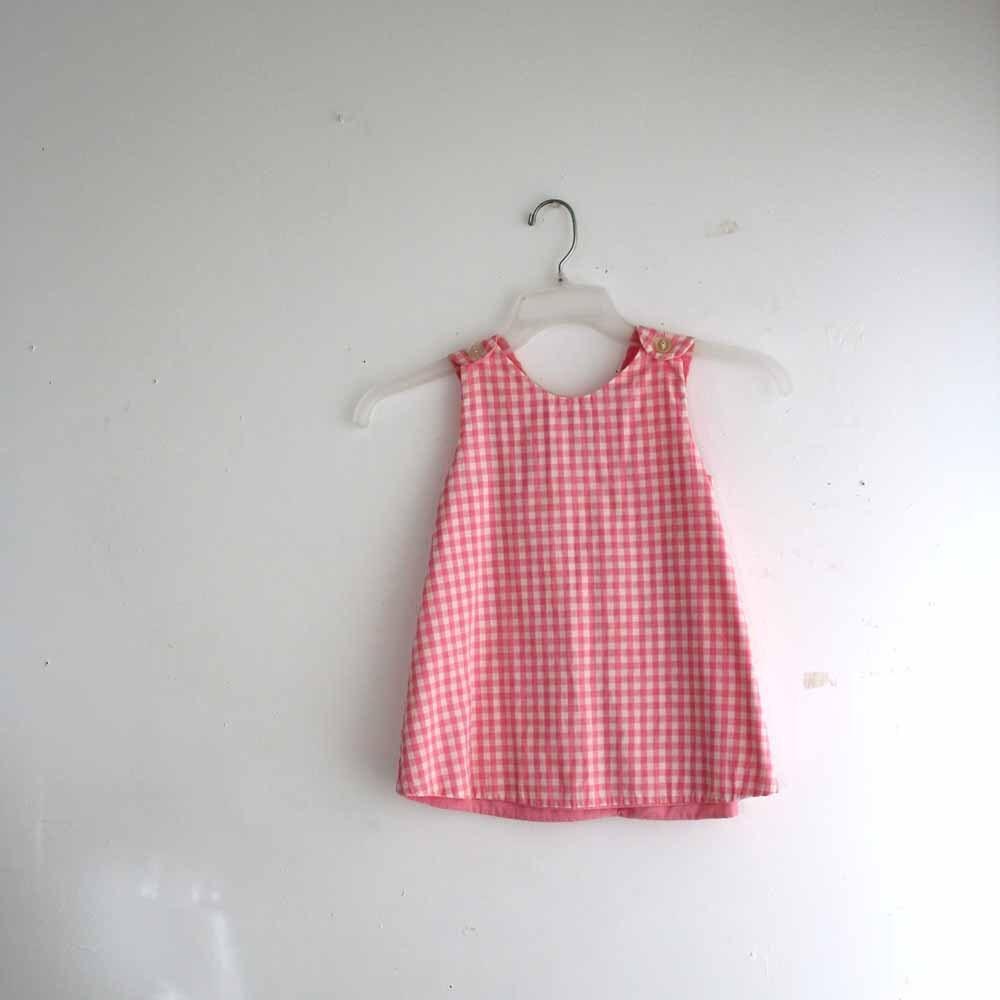 toddler pinafore dress girls pink plaid dress toddler
