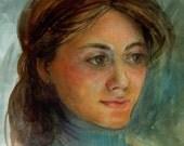 Original Watercolor Illus...