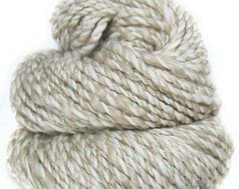 Handspun Yarn baby camel silk and superfine Merino wool