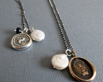 Add a Charm - Freshwater Coin Pearl Charm