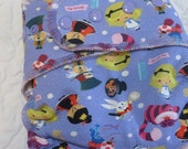 Made to Order Nifty Nappy One Size Fitted OR AI2 Cloth Diaper in cute Alice print