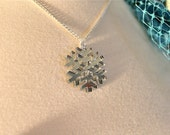 Mirrored Snowflake Necklace
