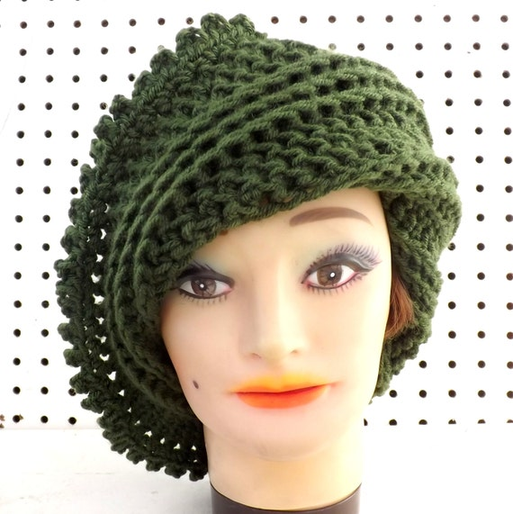 LISA Crochet Beanie Hat with Picots