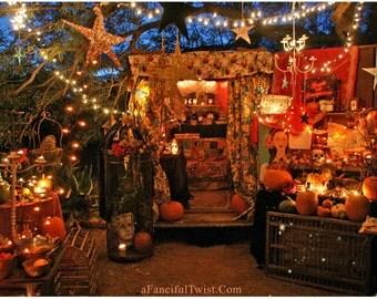 5 Postcards - Festivities in the Gypsy Garden