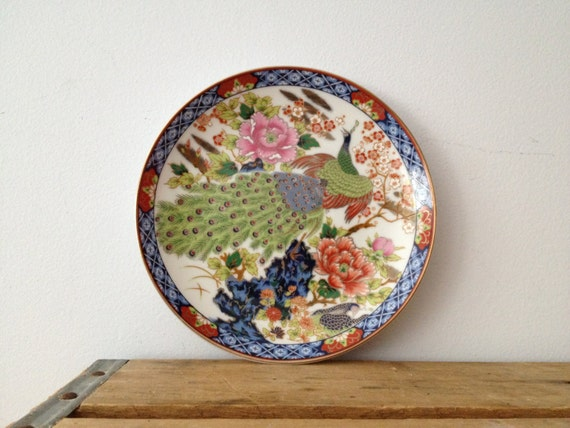 Vintage Decorative Plate Assiette Decorative Murale