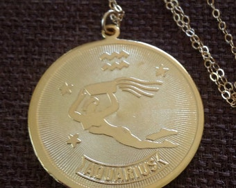 Aquarius Necklace - Zodiac Necklace - Zodiac Birthday - January Birthday - February Birthday - Consellation Necklace - Astrology Necklace