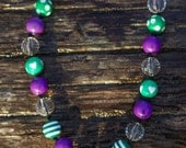 SIMPLE.beads Gossip bubble gum bead necklace