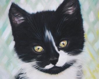 Black tom cat | Etsy