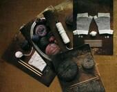 Knitting Organized Neatly postcards