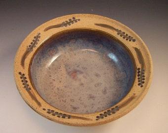 Pottery Snack Bowl,Pottery Centerpiece. Candy Dish