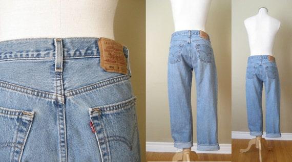 vintage LEVIS 501 / Levis Jeans / Boyfriend Jeans / High Waist