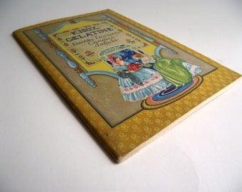 Knox Gelatine Cookbook 1930s Dainty Desserts Candies Salads