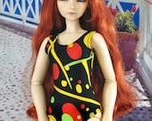 50% OFF! BJD Choice of Print Swim Suit Leotard for SD Dollfie Luts Dollstown Elfdoll