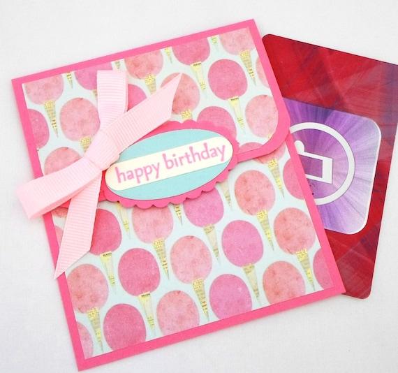 Items Similar To Birthday Gift Card Holder