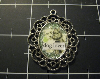 Dog Lover Pendant, West Highland White Terrier, Scottish Terrier, 50% goes to the current selected animal charity