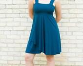 Cora ~ Short Tank Dress ~ Organic ~ Custom Made