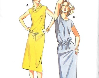 UNCUT Skirt and Top with Cap Sleeve Bust 38.5 - 40 - 41.5 - 43