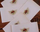 vintage cigar labels - paper ephemera - large - box label - gold