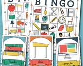 Back to School Printable Bingo Game