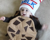 Baby Costume Toddler Costume Cookie Halloween Costume Chocolate Chunk Cookie