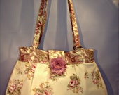 Romantic Roses Purse with Paisley