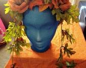 Autumn Fairy Fantasy Wedding Ren Faire Headdress