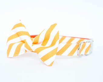 Tennessee Vols Bow Tie Dog Collar