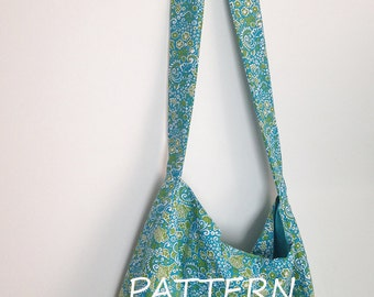 Sling Shoulder Tote Bag Pattern 121