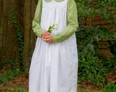 Anne of Green Gables Costume Dress and Pinafore any Girls Size