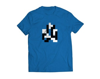 T Shirt Adult funny t shirt geometric blocks game funny t shirt tee shirt funny tee shirt vintage game t shirt inspired in 80's game