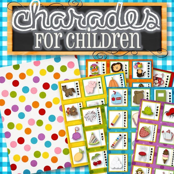 how to play charades for kids