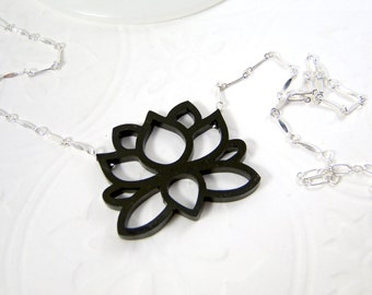 Big Lotus Necklace