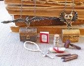 Vampire Hunting Kit Necklace New and Improved Vampire Slaying Kit Cosplay Gargoyle Bat Dracula