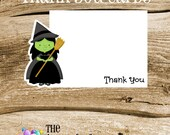 Wizard of Oz Party - Set of 8 Wicked Witch Thank You Cards by The Birthday House