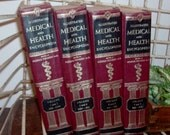 1966 Illustrated Medical and Health Encyclopedia Book Set