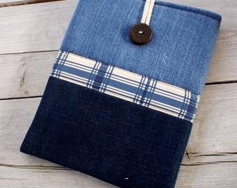 Apple iPad Sleeve Case Cover/padded/ denim/ pocket